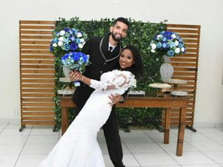 O casamento de Ester  e Jean
