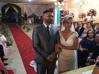 O casamento de Jayne  e Wilson