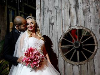 O casamento de Cintia e Jelton