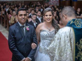 O casamento de Carla e Gilbert