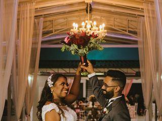 O casamento de Erica e Robson