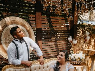 O casamento de Larissa  e Bruno  1