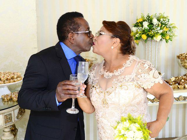 O casamento de Auxiliadora e João