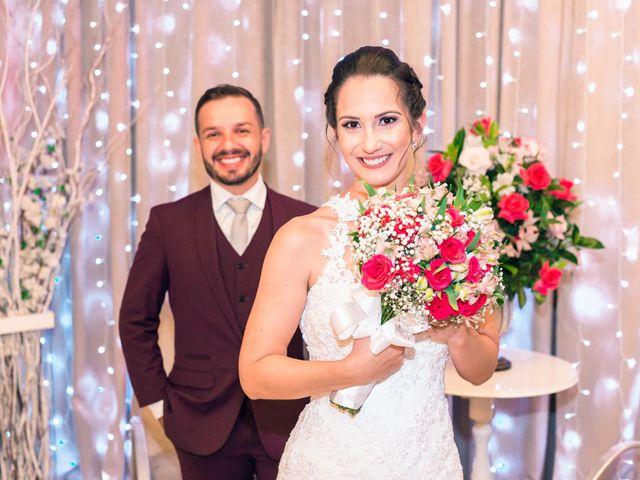 O casamento de Carla e Maicon