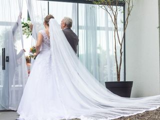 O casamento de Ellen e Lourenço