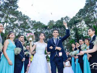 O casamento de Viviane e Cristiano