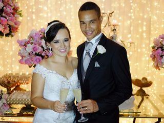 O casamento de Stella e Sandro