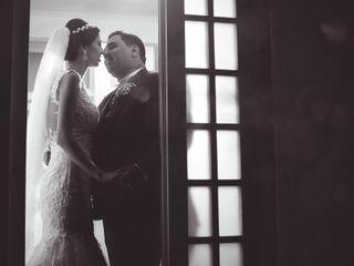 O casamento de Gislaine e Renato