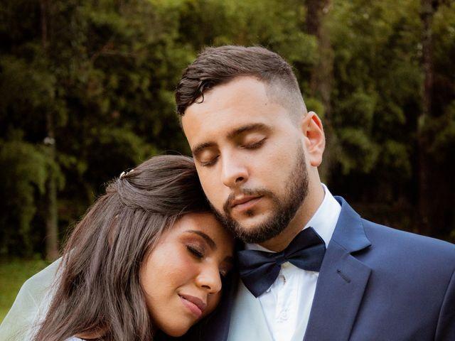 O casamento de Evelyn e Guilherme