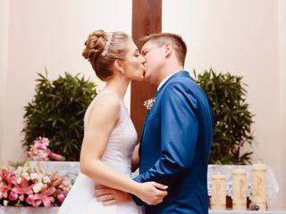 O casamento de Aline e Maiko