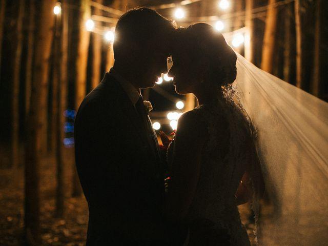 O casamento de Gian e Melry