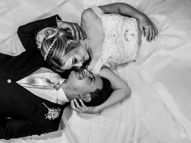 O casamento de Tamires e Wagner