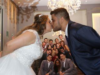 O casamento de Claudene e Caio