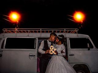 O casamento de Emellyn e Jediel