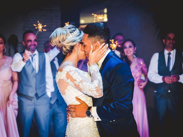 O casamento de Alyne e Gustavo