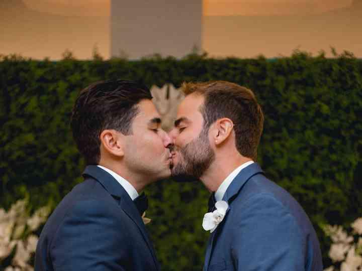 O casamento de Eric e Paulo
