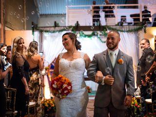 O casamento de Andressa e Eric