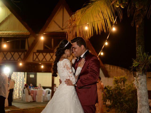 O casamento de Lais e Mauro