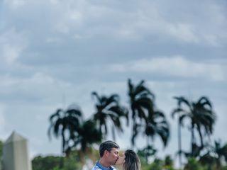 O casamento de Débora e Robério 1