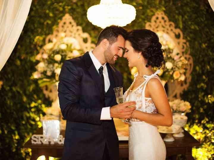 O casamento de Ligiane e Bruno