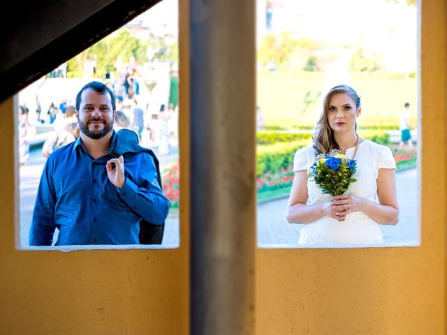 O casamento de Gizelle e Sergio