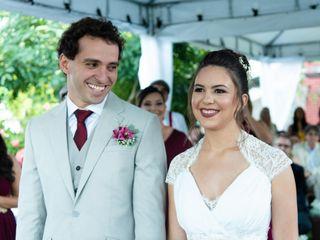 O casamento de Camila e Wilson