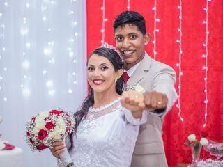 O casamento de Vera e Leandro