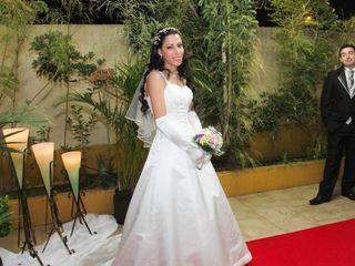 O casamento de Alessandra e Ériton
