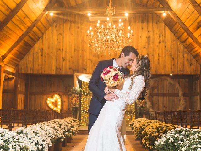 O casamento de Elisandra e Heleno