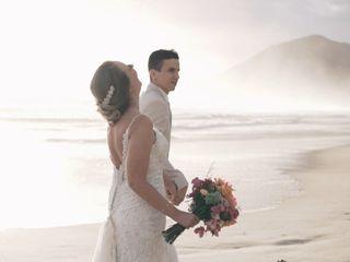 O casamento de Flávia e Peter