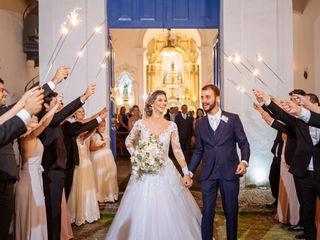 O casamento de Flávia e Jhonn
