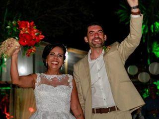 O casamento de Valéria  e Cassius 1