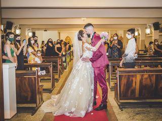 O casamento de Flávia e Neto