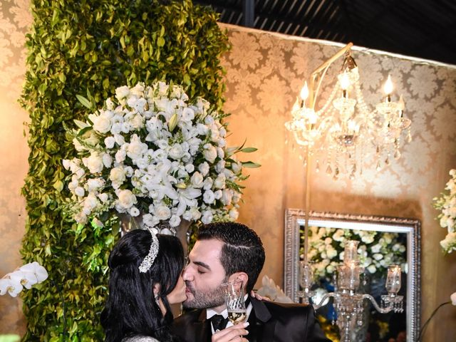 O casamento de Aline e Douglas