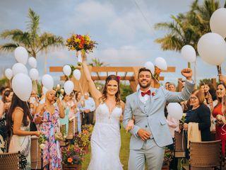 O casamento de Meriele e Vitor