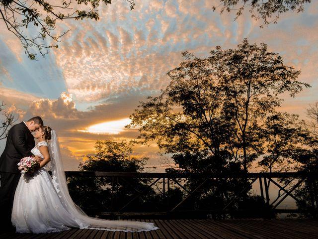 O casamento de Camila e Adriano