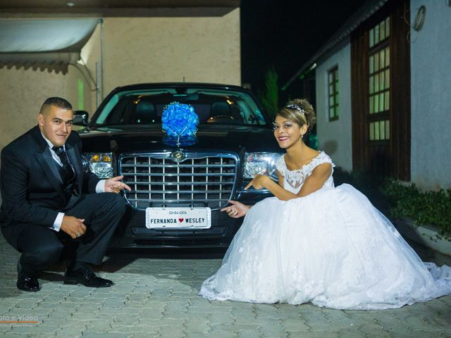 O casamento de Wesley e Carla Fernanda em Embu, São Paulo 2
