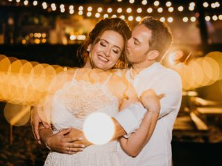 O casamento de Luciana e Fábio