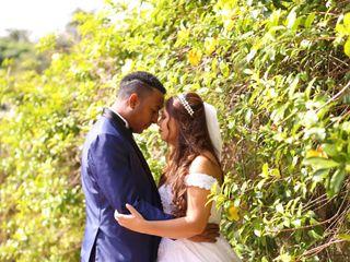 O casamento de Adriana e Jeferson