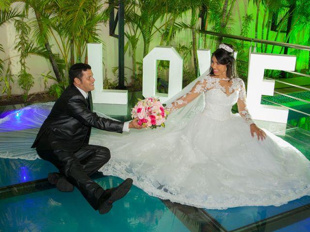 O casamento de Cristiane e Jean