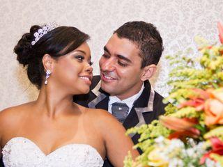 O casamento de Lumara e André
