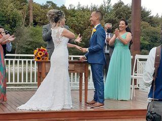 O casamento de Viviane e Geovane