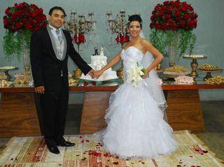 O casamento de Ramalho e Glendha