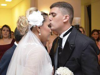 O casamento de Elbia e Daniel