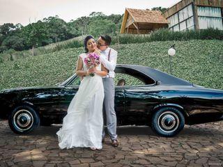 O casamento de Solange e Erexauá