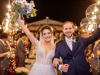 O casamento de Rafaela e Gabriel