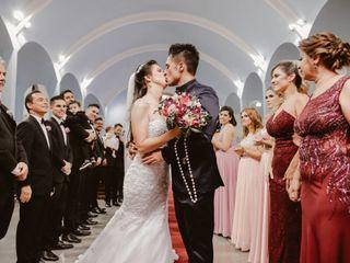 O casamento de Viviani e Bruno