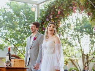 O casamento de Agatha e Jefferson