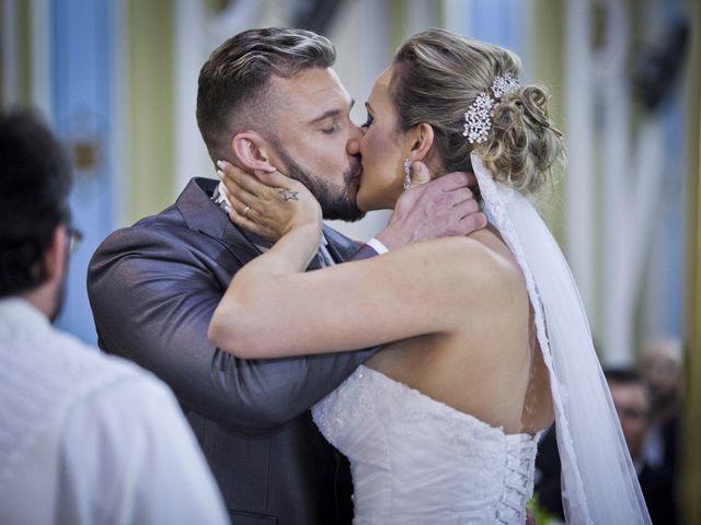 O casamento de Lara e Wagner