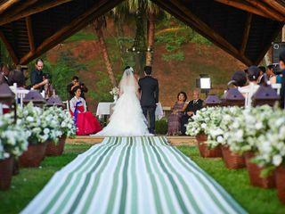 O casamento de Min e Mario